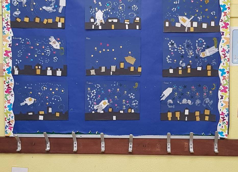 Mrs Flanagan's Class – Starry, Starry Night