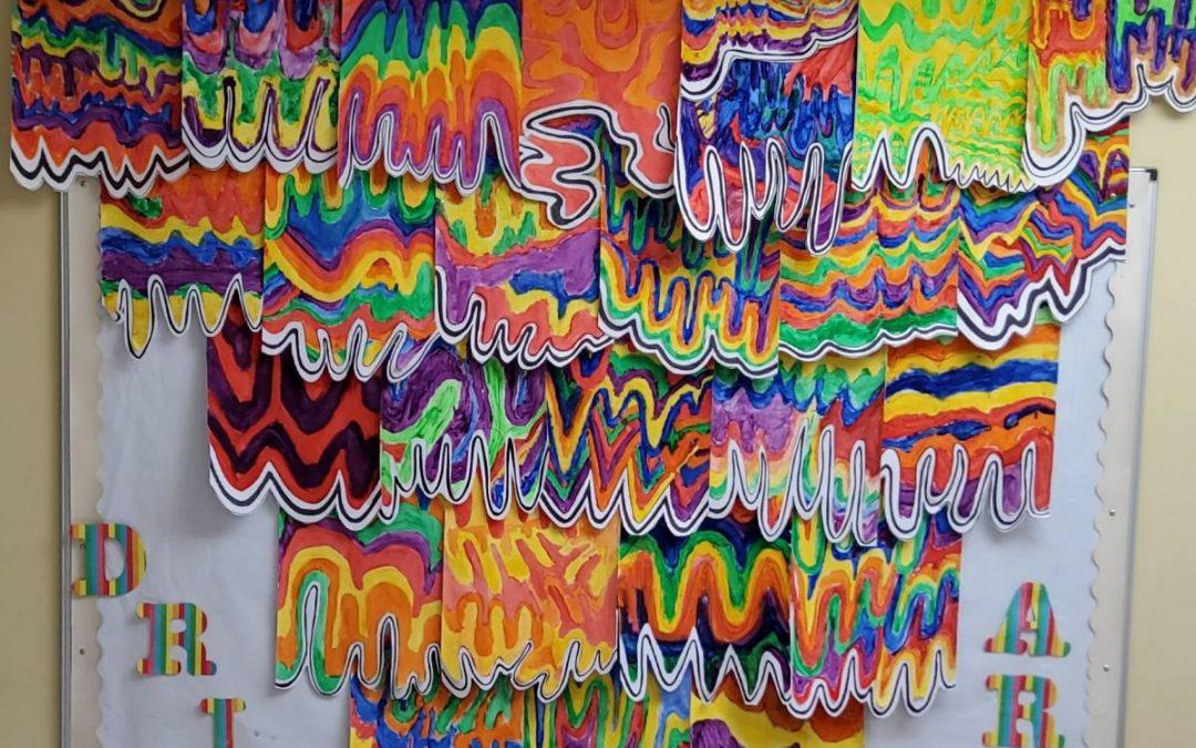 Creative Art Project (Ms. O'Mahony's Class)