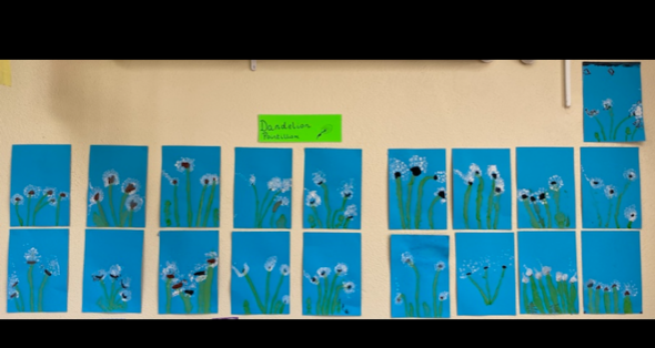Ms. Forristal's Class – May Altar